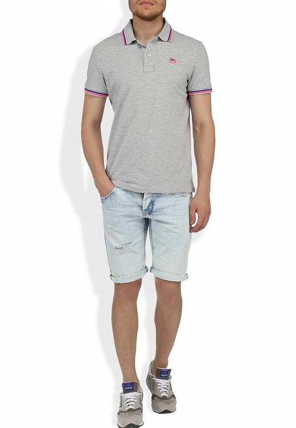 Мужские джинсовые шорты Alcott BE913UOL677 C293 AZZURRE: изображение 5