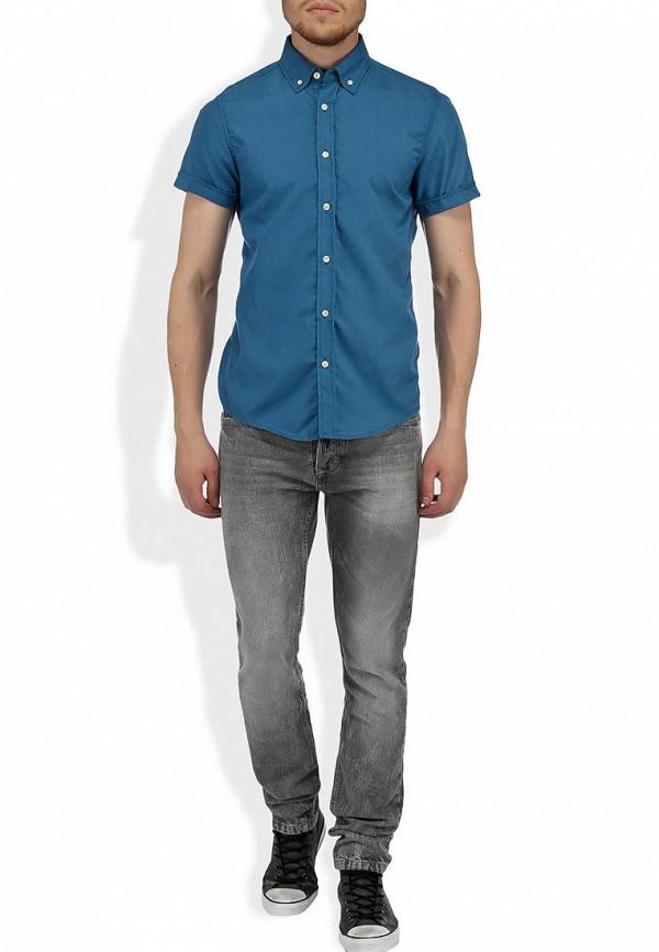 Рубашка с коротким рукавом Alcott CF376UO  C274 BLUEOIL: изображение 3