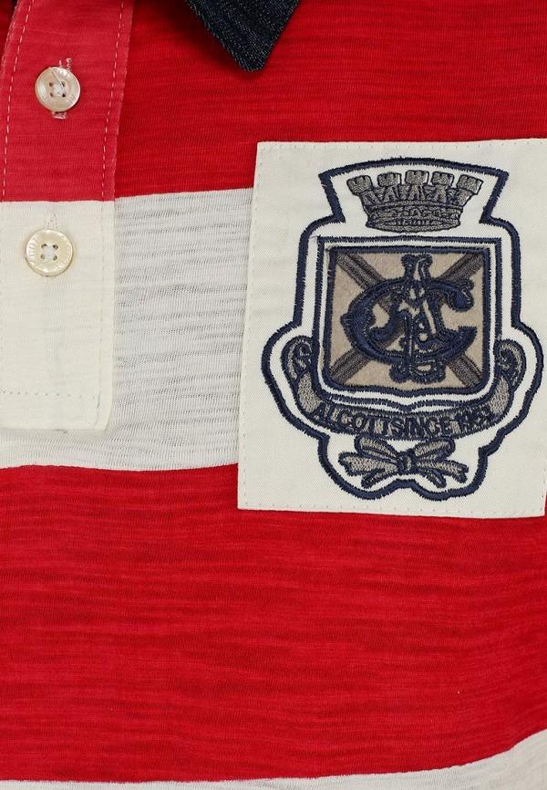 Мужские поло Alcott PP7026UO C345 RED: изображение 3