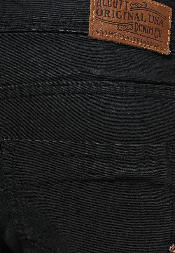 Мужские прямые джинсы Alcott 5C1122UO C109 BLACK: изображение 2