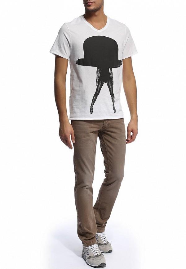 Мужские прямые джинсы Alcott 5C1122UO C570 BROWN: изображение 4