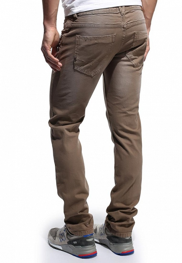 Мужские прямые джинсы Alcott 5C1122UO C570 BROWN: изображение 5