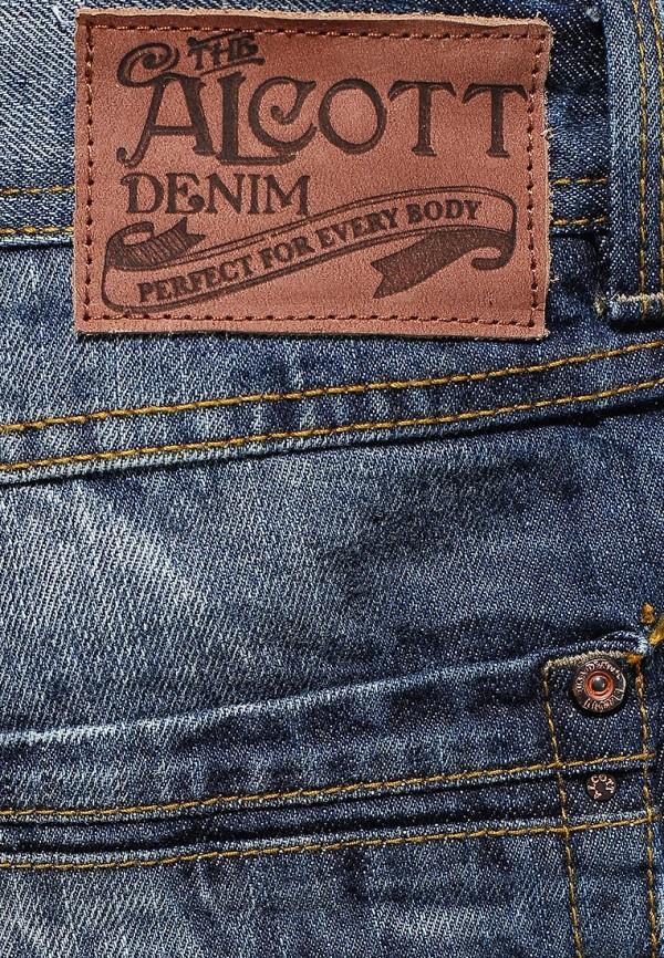 Зауженные джинсы Alcott 5T1136U1045D C218 BLUENAVY: изображение 3