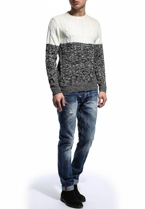Зауженные джинсы Alcott 5T1136U1045D C218 BLUENAVY: изображение 4
