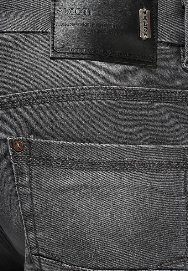 Мужские прямые джинсы Alcott 5T1379FW502G C120 GREY: изображение 2