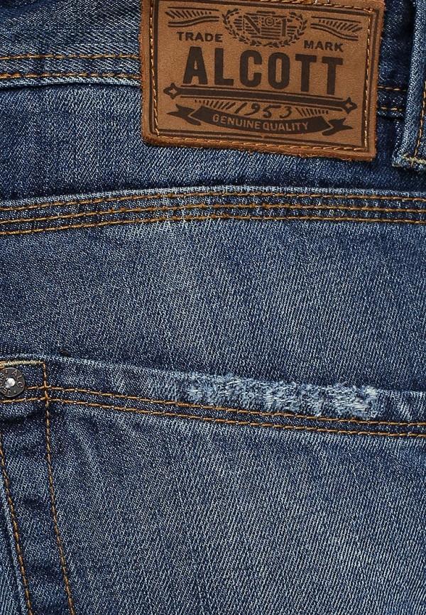 Мужские прямые джинсы Alcott 5T154UW013M C284 AZZURRE: изображение 2