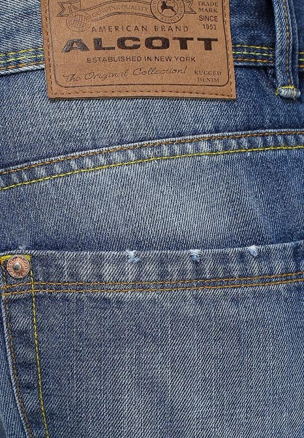 Мужские прямые джинсы Alcott 5T1567SL399M C218 BLUENAVY: изображение 3