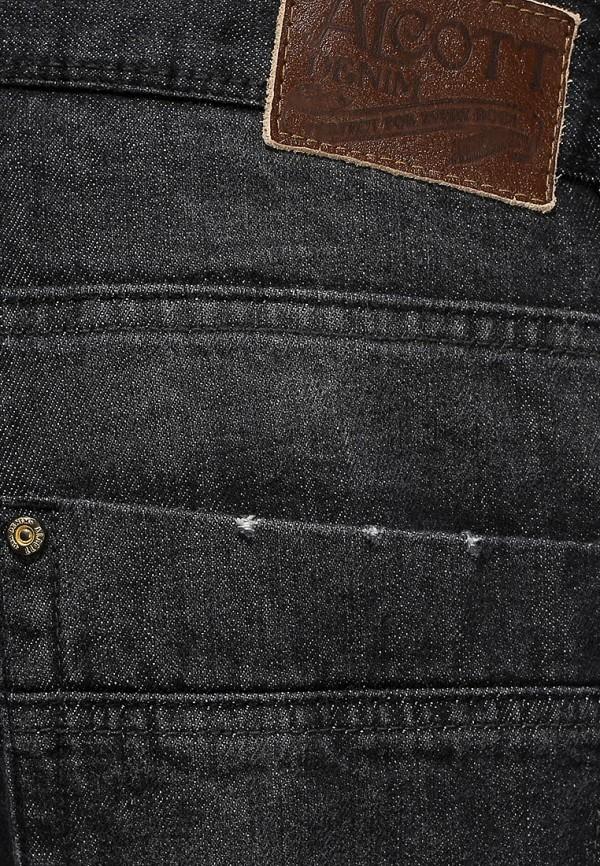 Мужские прямые джинсы Alcott 5T1567WL399B C101 BLACK: изображение 3