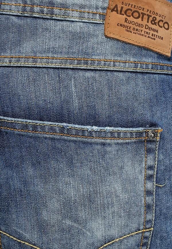 Мужские прямые джинсы Alcott 5T1662UL734M C214 BLUENAVY: изображение 3