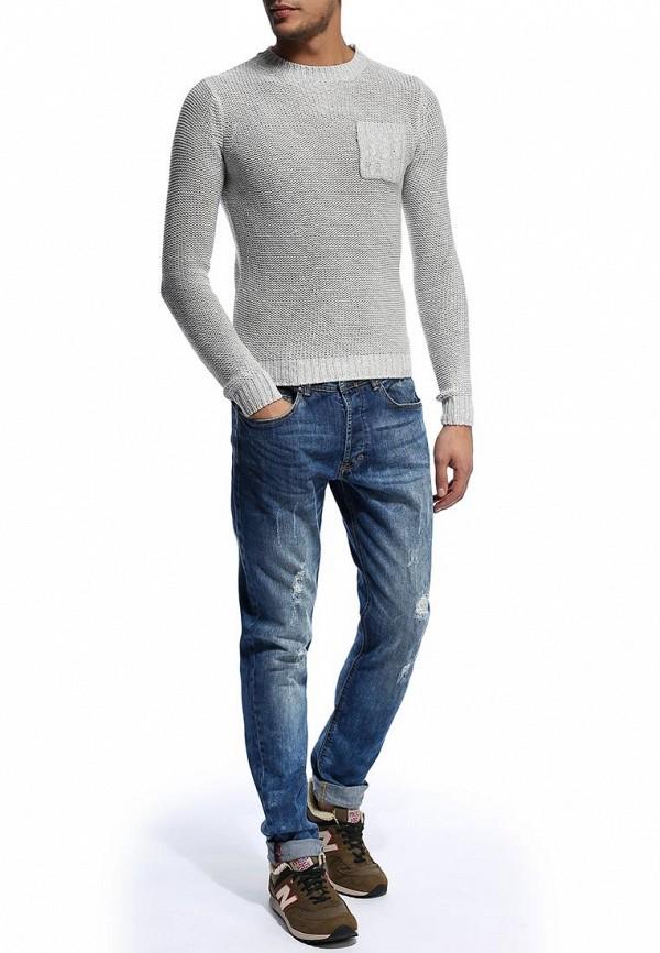 Мужские прямые джинсы Alcott 5T1662UL734M C214 BLUENAVY: изображение 4