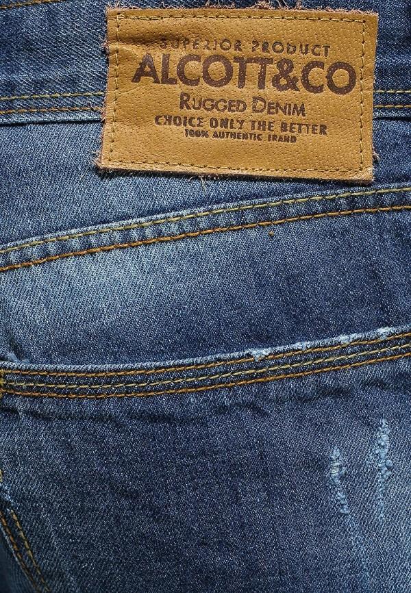 Зауженные джинсы Alcott 5T2022UW017 C284 AZZURRE: изображение 2