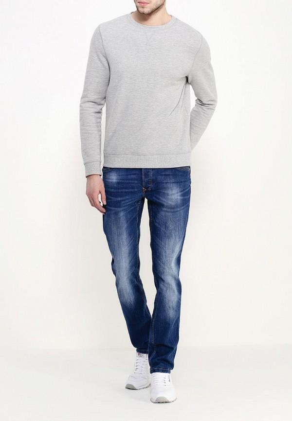 Мужские прямые джинсы Alcott (Алкотт) 5T2383UW297D: изображение 2