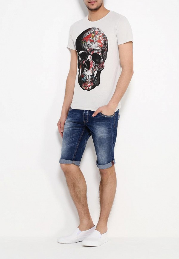 Мужские джинсовые шорты Alcott (Алкотт) BE1478UL474D: изображение 2