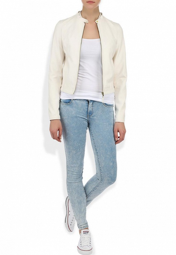 Кожаная куртка Alcott GB1010DO C099 WHITE: изображение 5