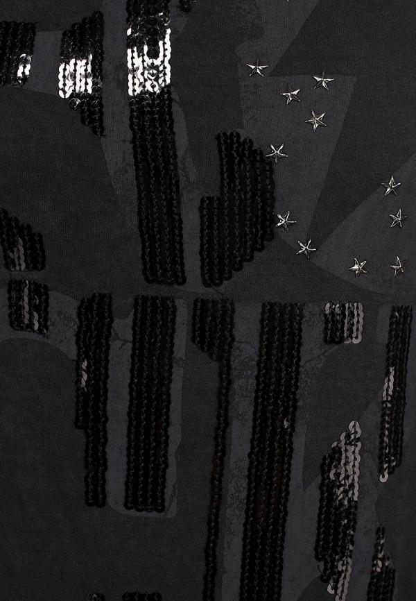 Футболка с надписями Alcott TS7581DO C109 BLACK: изображение 2