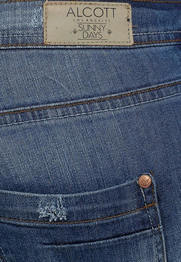 Зауженные джинсы Alcott 5T2132DOM C218 BLUNAVY: изображение 3