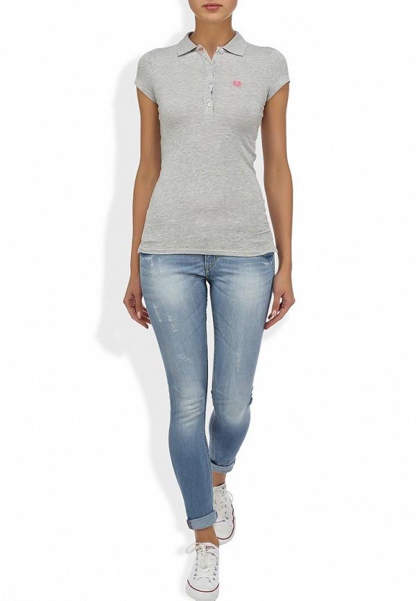 Зауженные джинсы Alcott 5T2132DOL C293 AZZURRE: изображение 5