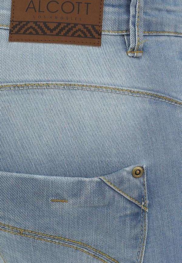 Зауженные джинсы Alcott 5T2136DOL C293 AZZURRE: изображение 3