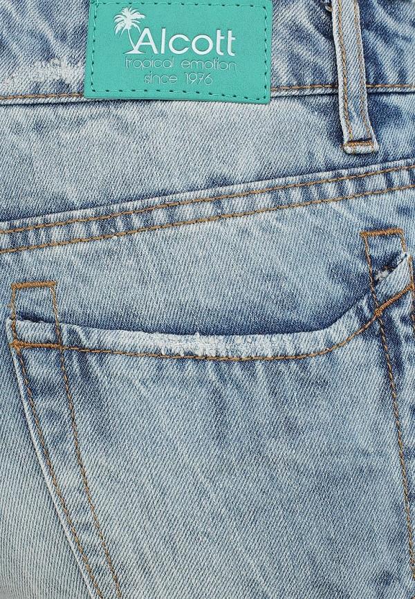 Женские джинсовые шорты Alcott SH2084DOL965 C284 AZZURRE: изображение 3