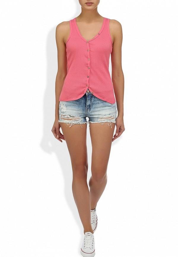 Женские джинсовые шорты Alcott SH2084DOL965 C284 AZZURRE: изображение 5