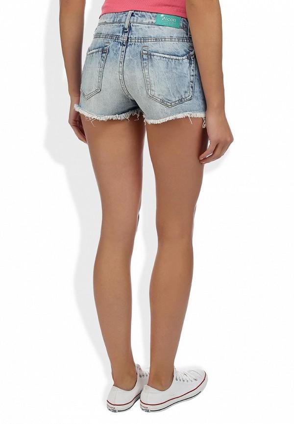 Женские джинсовые шорты Alcott SH2084DOL965 C284 AZZURRE: изображение 7