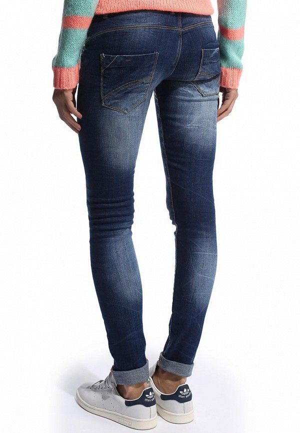 Зауженные джинсы Alcott 5T2136DOD C214 BLUENAVY: изображение 4