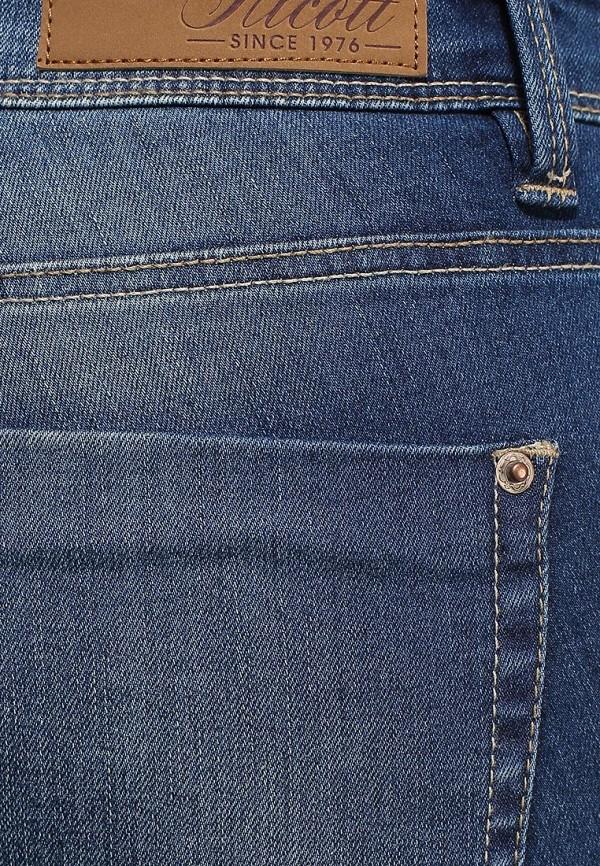 Зауженные джинсы Alcott 5T2289DW040 C241 BLUE: изображение 2