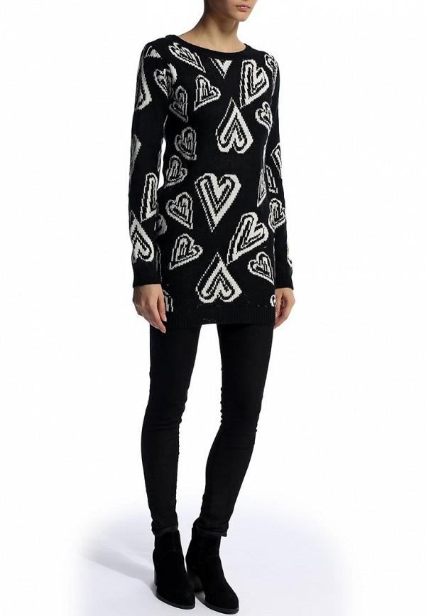 Вязаное платье Alcott MA9446DO C101 BLACK: изображение 4