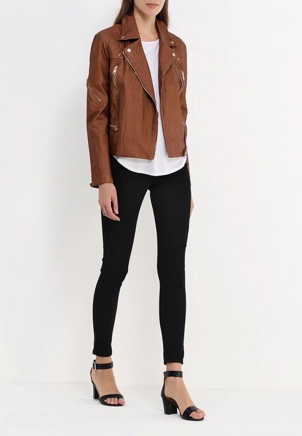 Кожаная куртка Alcott (Алкотт) GB1552DO: изображение 2