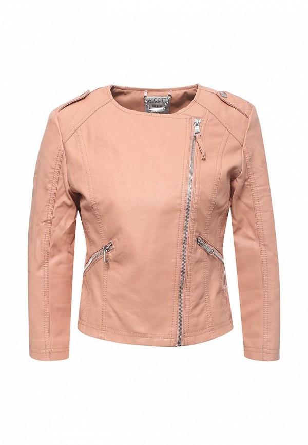Фото Куртка кожаная Alcott. Купить с доставкой