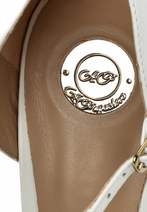 Босоножки на каблуке ALLA PUGACHOVA by Эконика AP2358-02 branco-14L: изображение 12