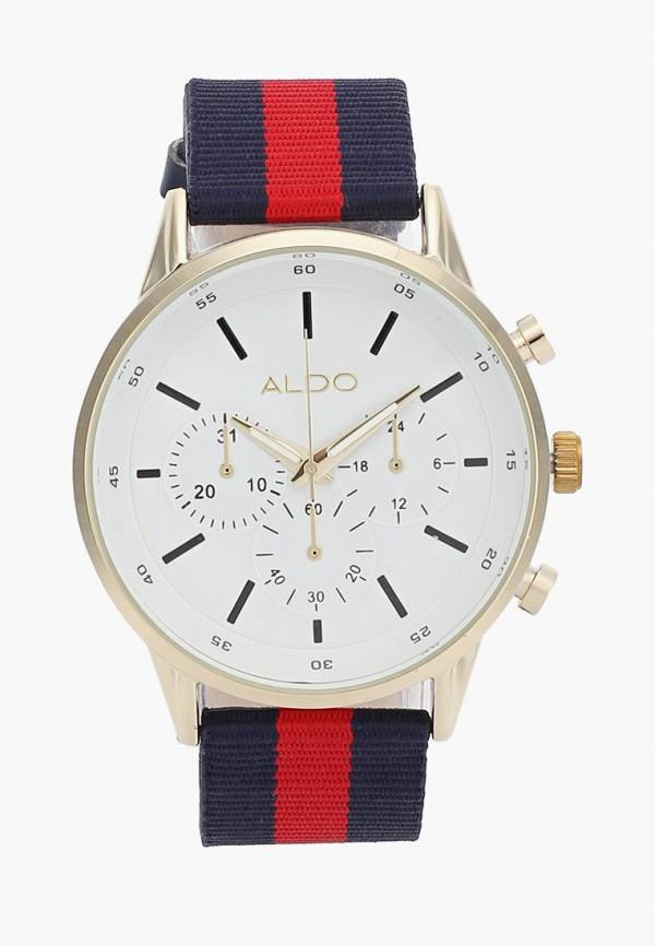 Купить Часы Aldo, Aldo AL028DMANAY1, бежевый, синий, Весна-лето 2018