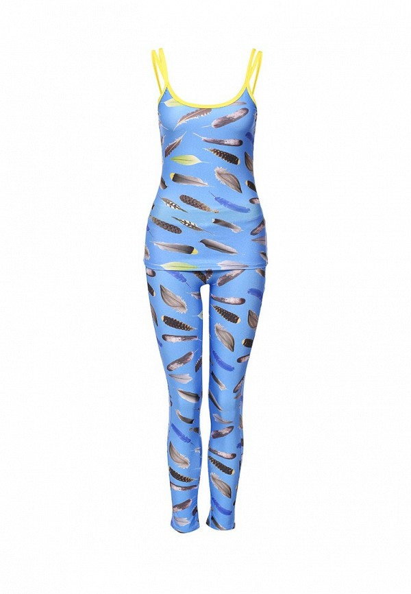 Спортивный костюм Allegri К-02 перо голубое