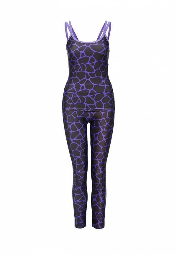 Спортивный костюм Allegri К96 фиолет с черным