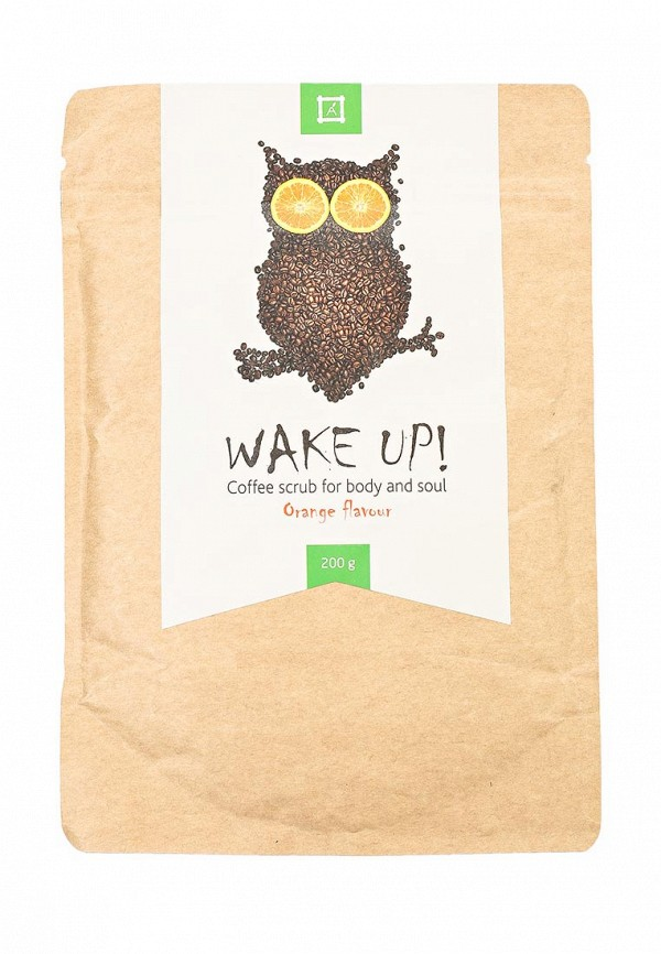 Скраб Almea Wake up! Coffe scrub - orange. для тела с ароматом апельсина