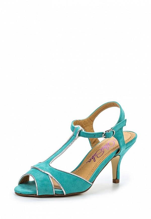 Босоножки на каблуке Alex Silva A323201: изображение 1