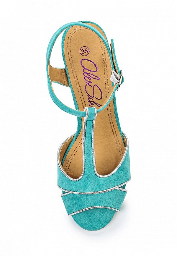Босоножки на каблуке Alex Silva A323201: изображение 4