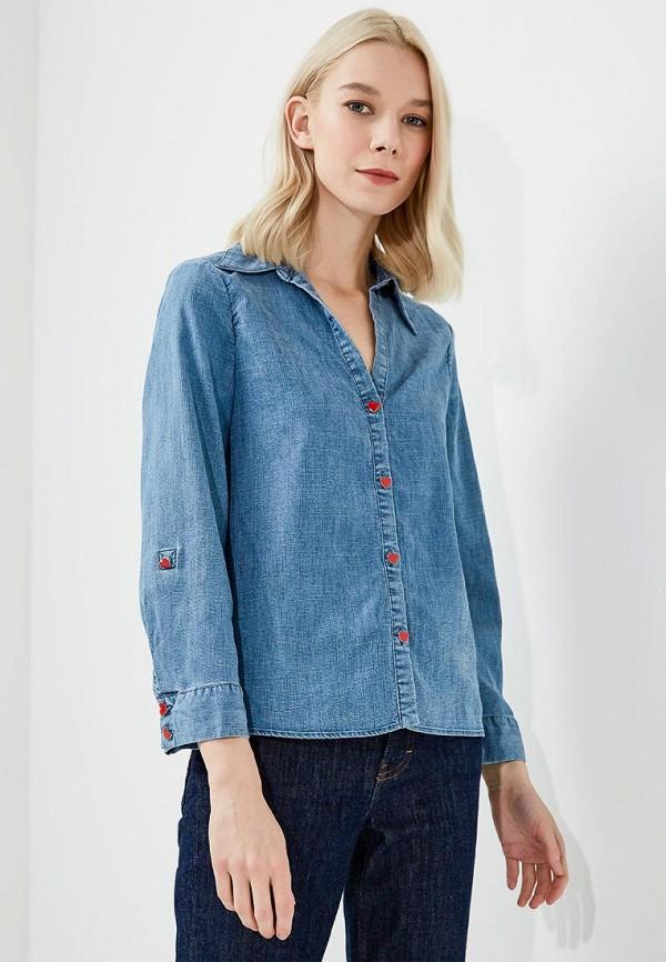 Рубашка джинсовая Alice + Olivia Alice + Olivia AL054EWYZD50 пальто alice olivia пальто короткие