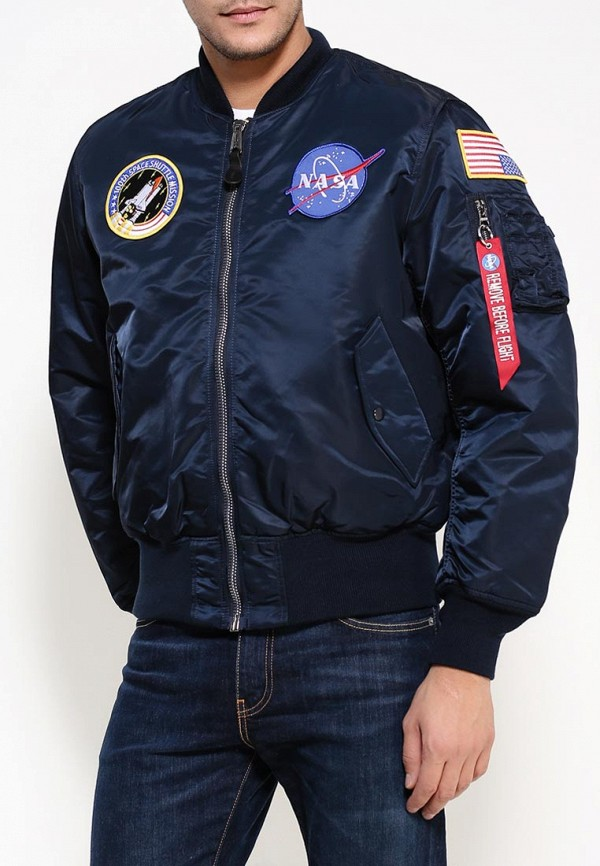 Куртка Alpha Industries 199.MJM21093C1..Replica Blue: изображение 4
