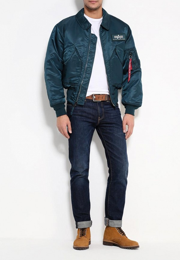 Пуховик Alpha Industries (Альфа Индастриз) 199.MJC22000C1..Navy: изображение 2