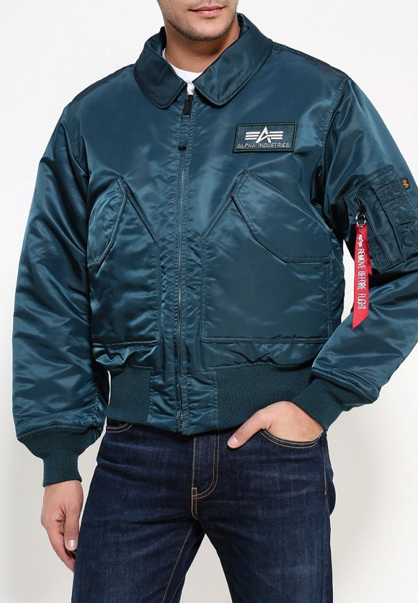 Пуховик Alpha Industries (Альфа Индастриз) 199.MJC22000C1..Navy: изображение 3