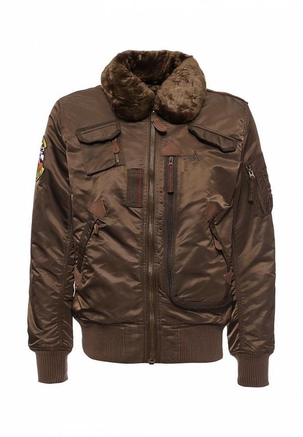 Куртка утепленная Alpha Industries 199.MJI38016C1..Brown