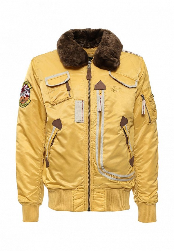 Пуховик Alpha Industries 199.MJI38016C1..Yellow: изображение 1