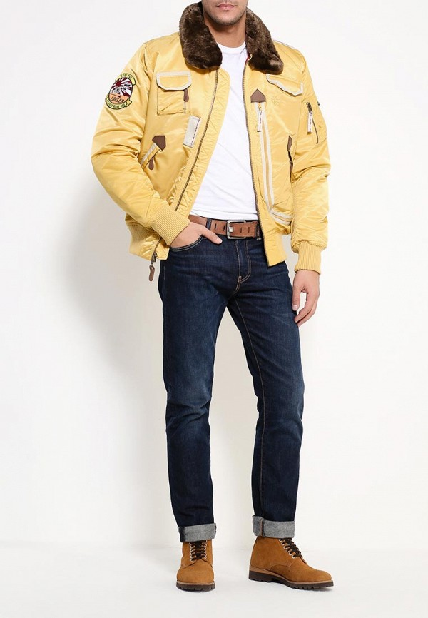 Пуховик Alpha Industries 199.MJI38016C1..Yellow: изображение 2