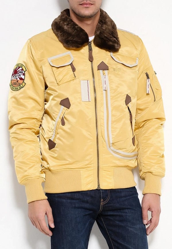 Пуховик Alpha Industries 199.MJI38016C1..Yellow: изображение 3
