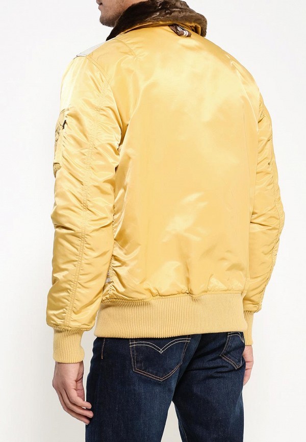 Пуховик Alpha Industries 199.MJI38016C1..Yellow: изображение 4