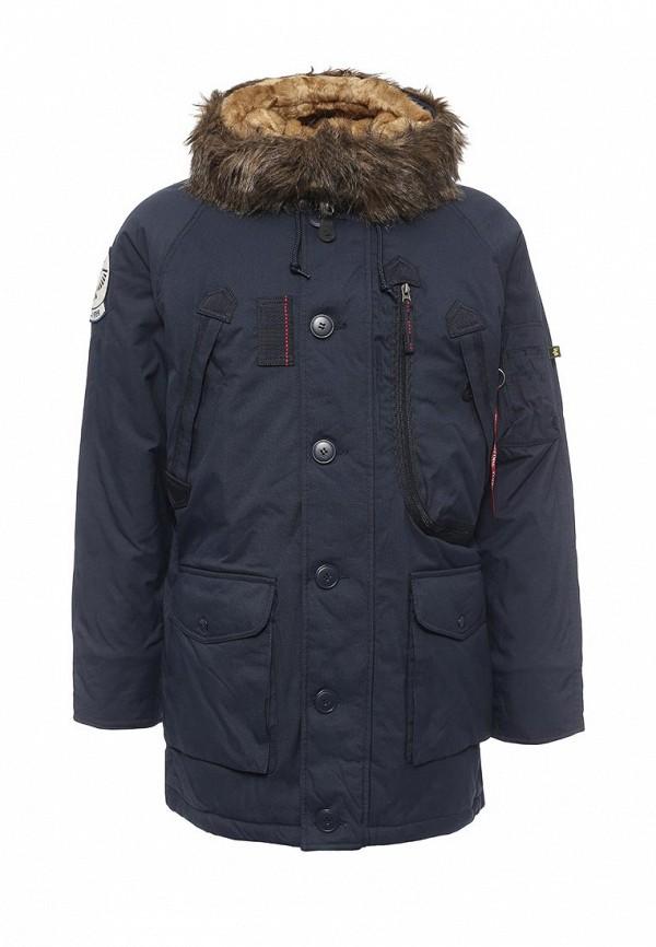 Куртка утепленная Alpha Industries 199.MJA46720C1..Replica Blue