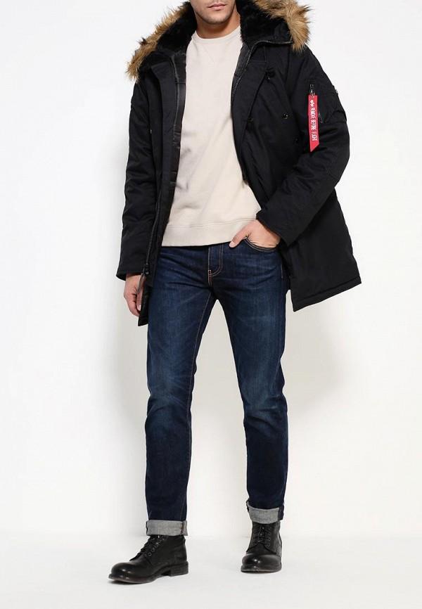 Утепленная куртка Alpha Industries (Альфа Индастриз) 199.MJA43917C1..BLACK: изображение 2