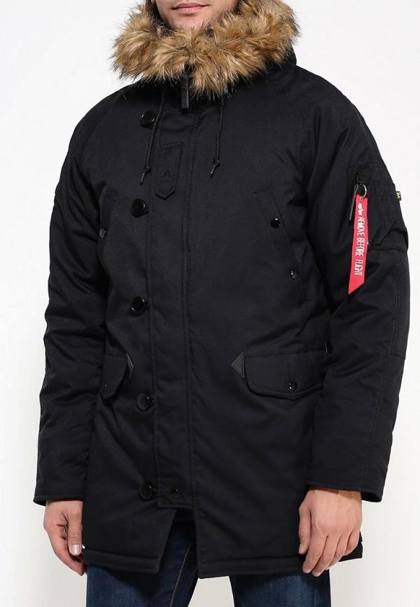 Утепленная куртка Alpha Industries (Альфа Индастриз) 199.MJA43917C1..BLACK: изображение 3