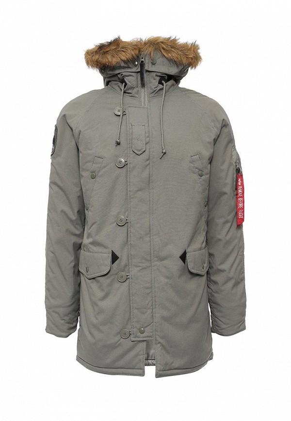 Утепленная куртка Alpha Industries (Альфа Индастриз) 199.MJA43917C1..ALASKA GREEN: изображение 1